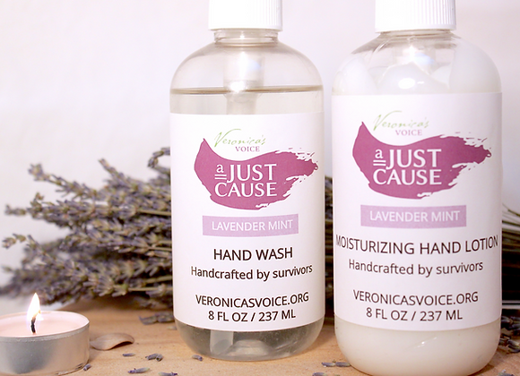 Lotion & Hand Wash Set - Lavender Mint