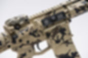 BTE Blackout SBR in Desert Camo