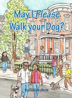 walk dog cover