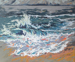 Coastal Beach painting