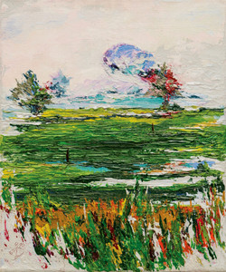 paddy fields , rice field art