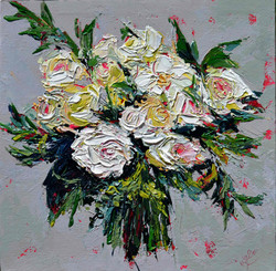 bouquet of flowers , painting floral