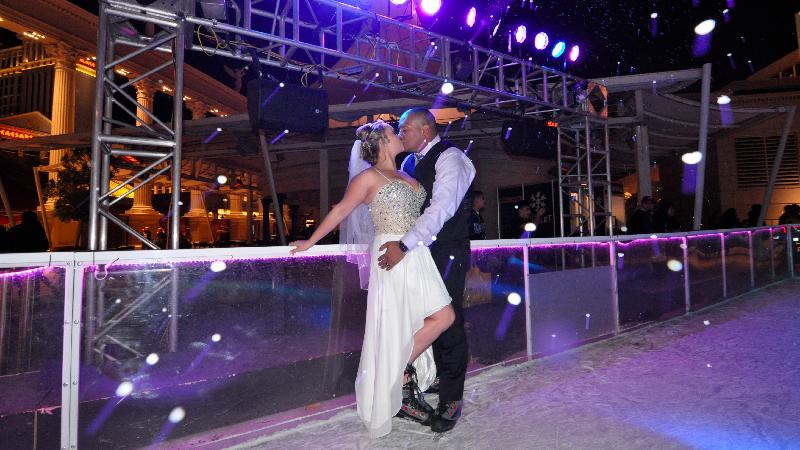 Just Married! Caesars Chalet, Las Vegas