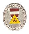 Strahlenschutzleistungsabzeichen Silber.