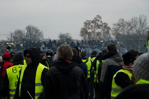 Acte IX du mouvement des gilets jaunes. 05/01/2019. Paris.