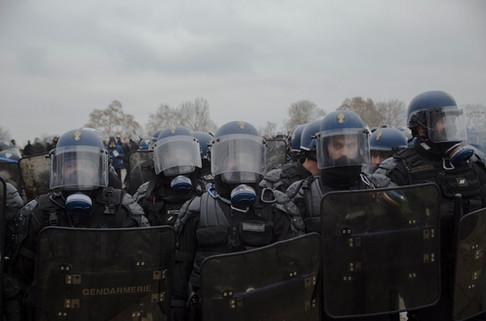 Acte VIII du mouvement des gilets jaunes. 05/01/2019. Paris.