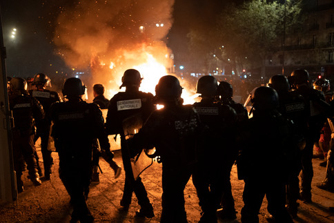 """Manifestation contre la loi """"sécurité globale"""". 28 novembre 2020. Paris."""