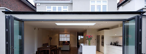 kitchen-extension-aluminium-bifold-doors