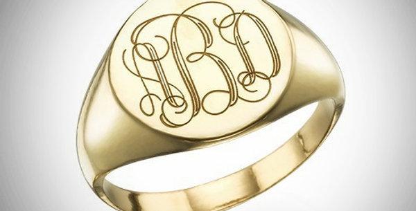 Monogram Ring 2