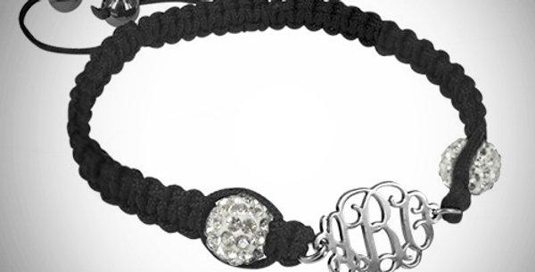 Shamballa Monogram Bracelet
