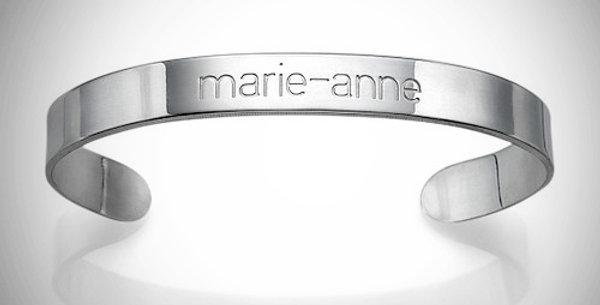 Name Bracelet-Cuff