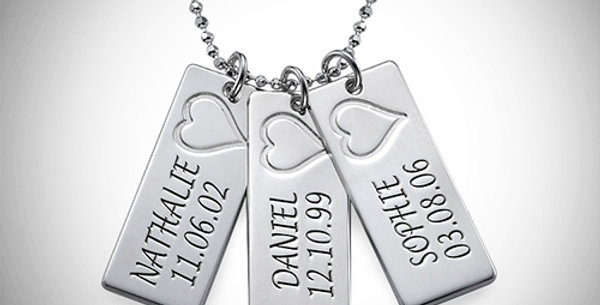 Mini Name Tags with Personalization