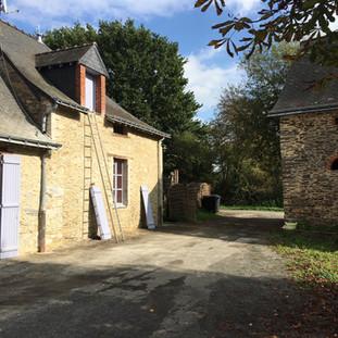 Rénovation extérieure,Ravalement,Morgan Foulonneau,Maître d'Oeuvre,Angers,Maine et Loire