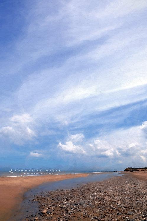 Beach at Happisburgh no 1 - Norfolk