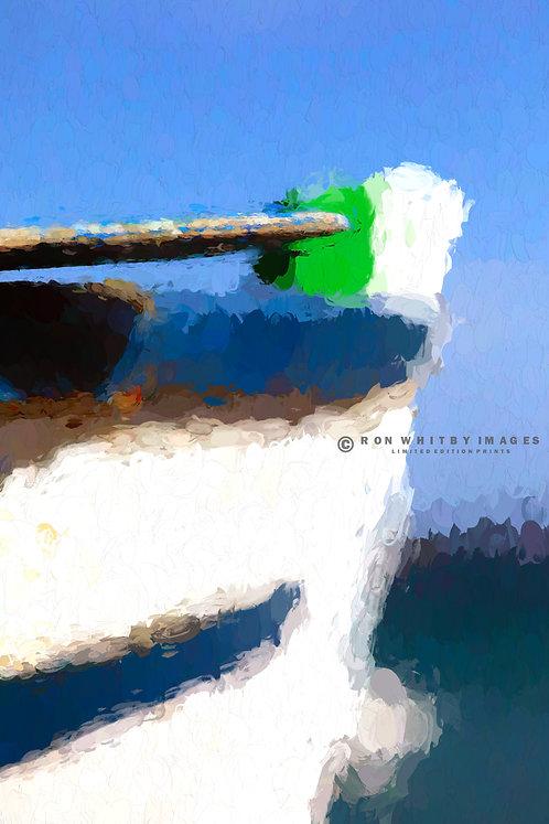 Oar in Boat no 3 - Playa Blanca