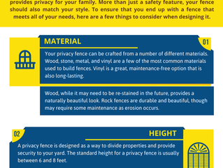 Tips for Customizing Your Privacy Fence