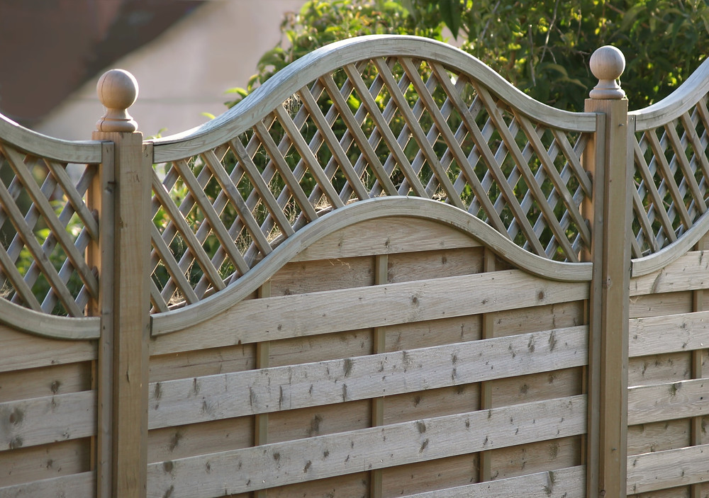 Ornate Wooden Fencing
