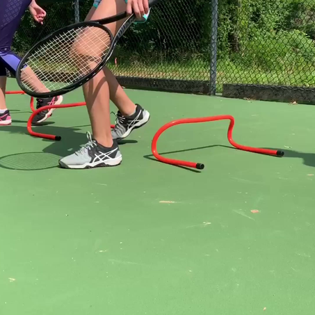 Tennis Fitness - Focus on the Footwork