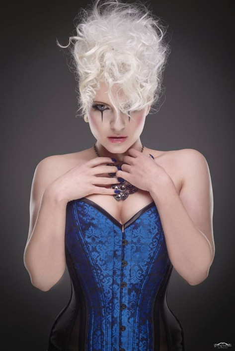 Scott chalmer photography Tabitha Adams MUA Vlakyrie corsets