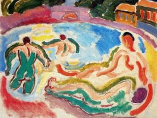 노르망디의 색채. Raoul Dufy