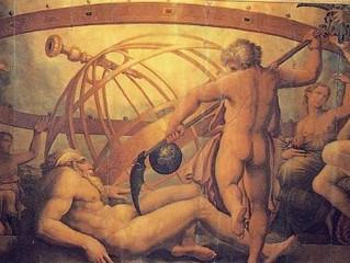 우라노스, 가이아, 크로노스 그리스 신화의 시작을 알리며