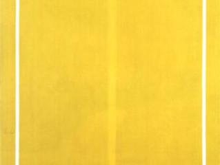 Barnett Newman과 함께하는 노란색 이야기