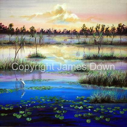 Last Light Parry's Lagoon