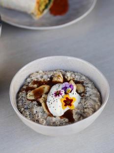 Banana Caramel Porridge