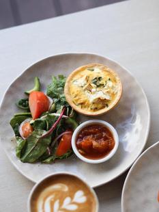 Quiche with Sundried Tomato & Feta