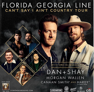 florida georgia line can't say i ain't country tour
