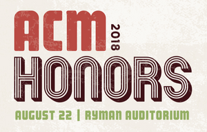 2018 acm honors