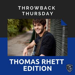 throwback thursday: thomas rhett