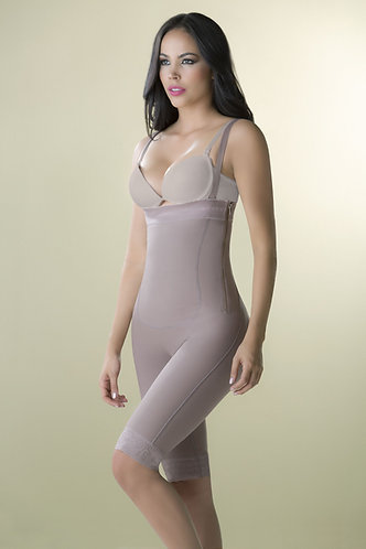 3083 - Abdomen post-Surgery girdle - Strapless and knee height short