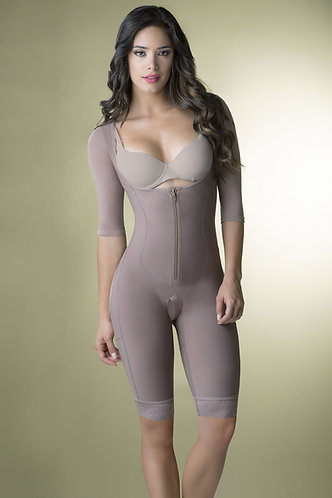 3061 - Post-Surgical girdle with sleeves and open bust