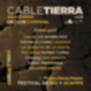 Cable Tierra Parana - Line up..jpg