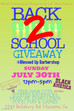 Back 2 School Giveaway!