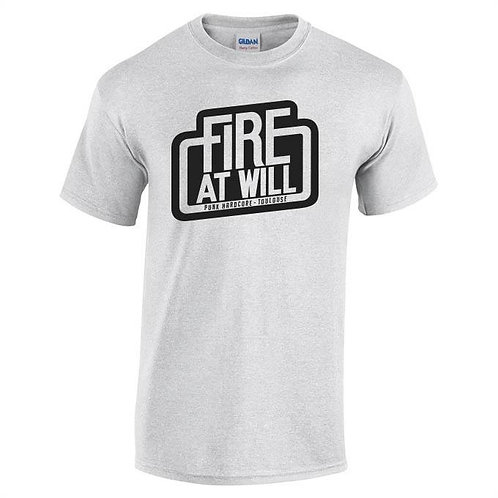 Fire At Will Logo T-Shirt (grey)
