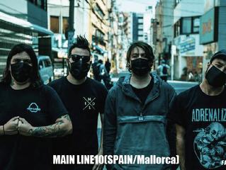 MAIN LINE 10(SPAIN) New MV公開情報!
