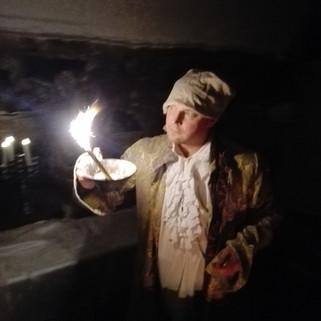 gustaviansk andeskådare på spöktur