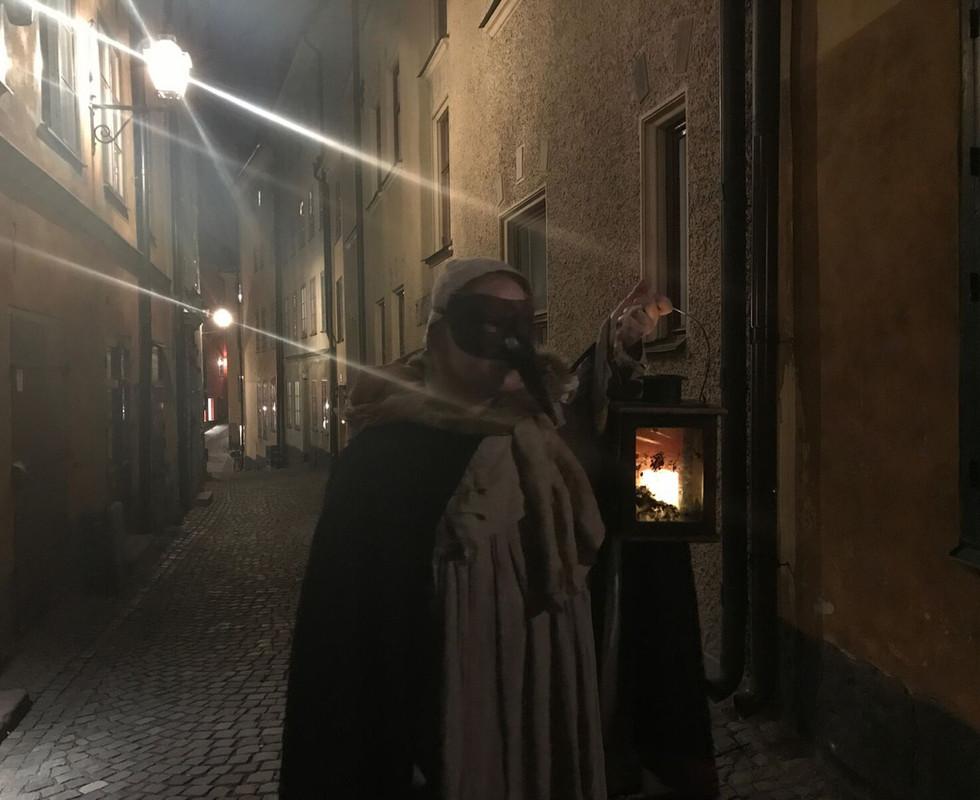 spökvandring sena turen 22.30