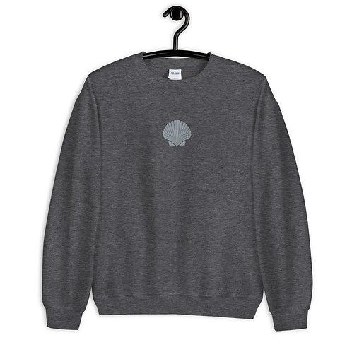 Embroidered Shell Unisex Sweatshirt