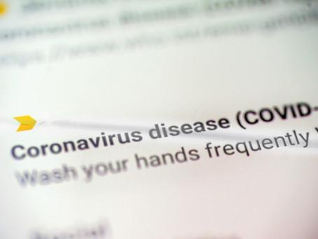 Coronavirus Customizable Flyer