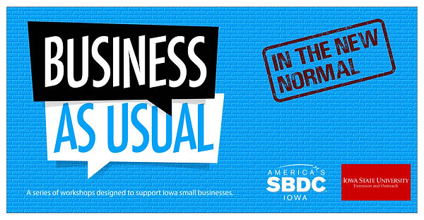business as Usual branding ISU Extension