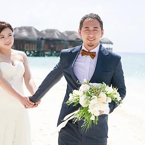 馬爾地夫婚紗
