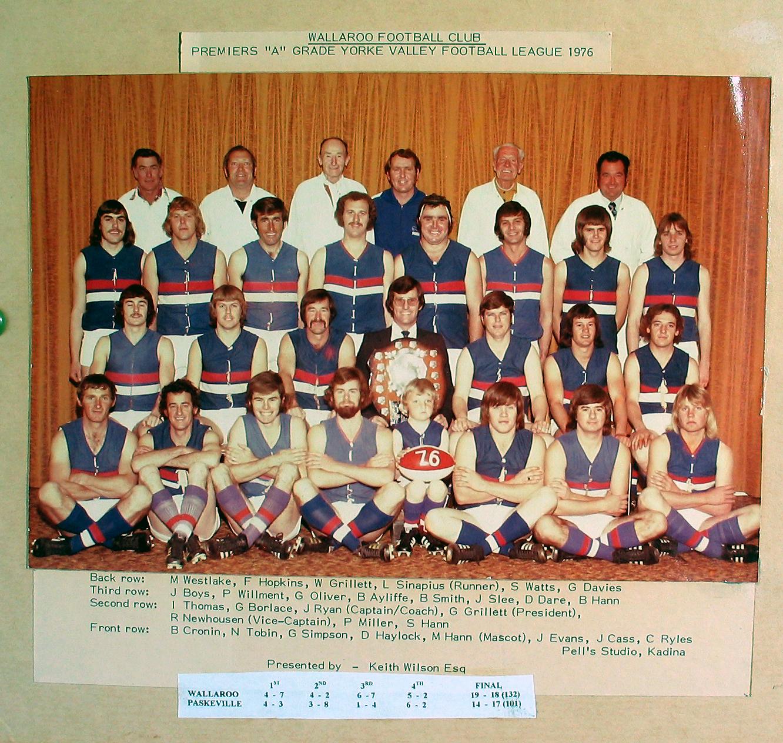 A Grade Premiers 1976