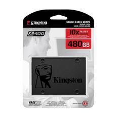 Kingston A400 480GB SATA Rev. 3.0 500MB-450MB