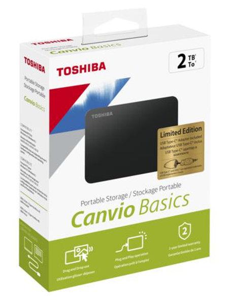 Toshiba Canvio Basics 2TB Harici Disk