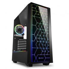 Sharkoon RGB Lit 100 Tempered Glass USB 3.0 Mid-Tower