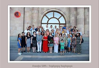 Radio Ayk members in Yerevan