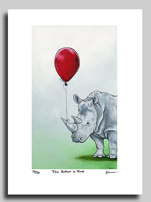 This Balloon is Mine